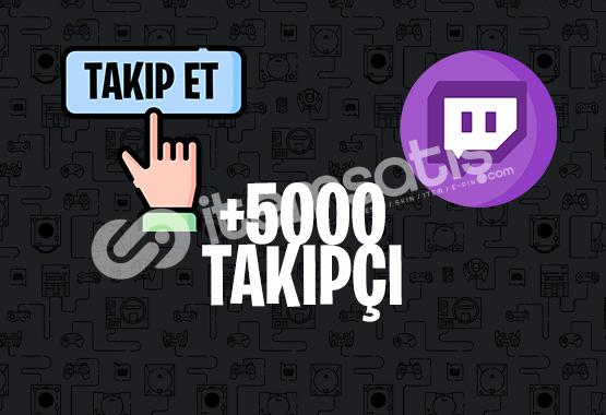 5000 TAKİPÇİ | İNDİRİM