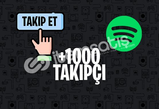 1000 SPOTİFY TAKİPÇİ | İNDİRİM
