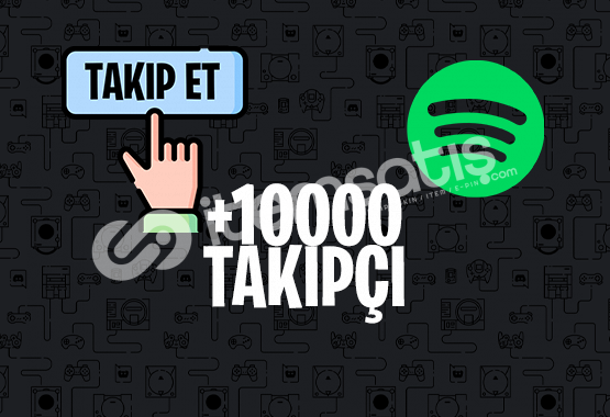10000 SPOTİFY TAKİPÇİ | İNDİRİM