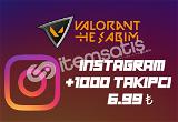 +1000 TAKIPCI 6.99₺ l +100 TAKIPCI HEDIYE!