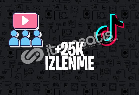 +25K KARIŞIK İZLENME | İNDİRİM | TİKTOK