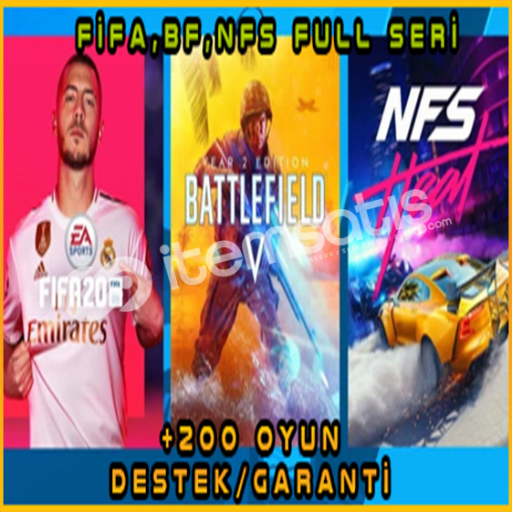 EaPlay FİFA 20,21 +200 Oyun Garanti/Destek