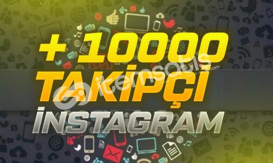 10000 Karışık Takipçi - İnstagram