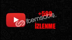 500 İZLENME / ANLIK GÖNDERİM/KALİTELİ HİZMET