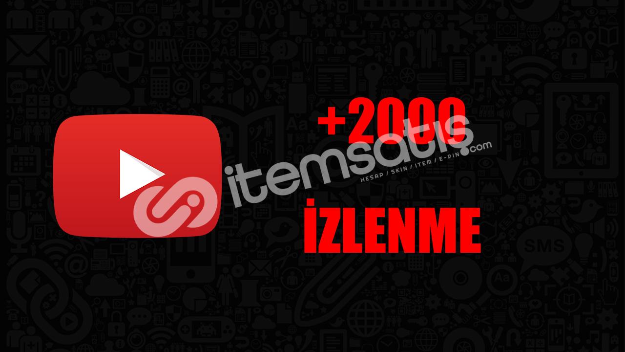 2000 İZLENME / ANLIK GÖNDERİM/KALİTELİ HİZMET