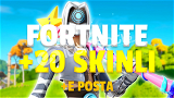 Fortnite +20 Skinli Tam Erişim Hesap
