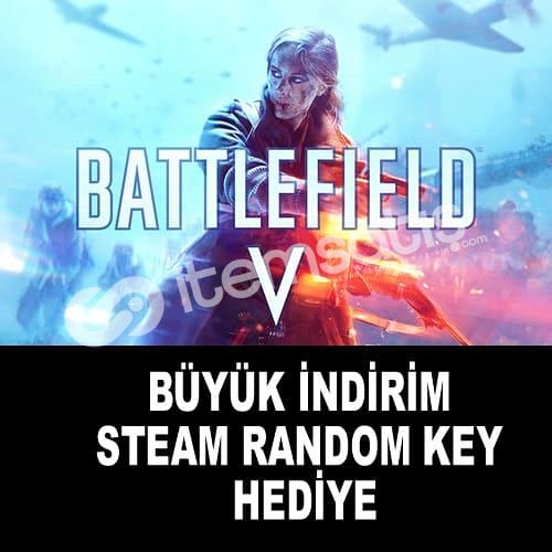 Battlefield V Alana Steam Random Key Hediye
