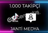 1.000 TİKTOK TAKİPÇİSİ - HIZLI TESLİMAT