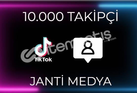 10.000 TİKTOK TAKİPÇİSİ - HIZLI TESLİMAT