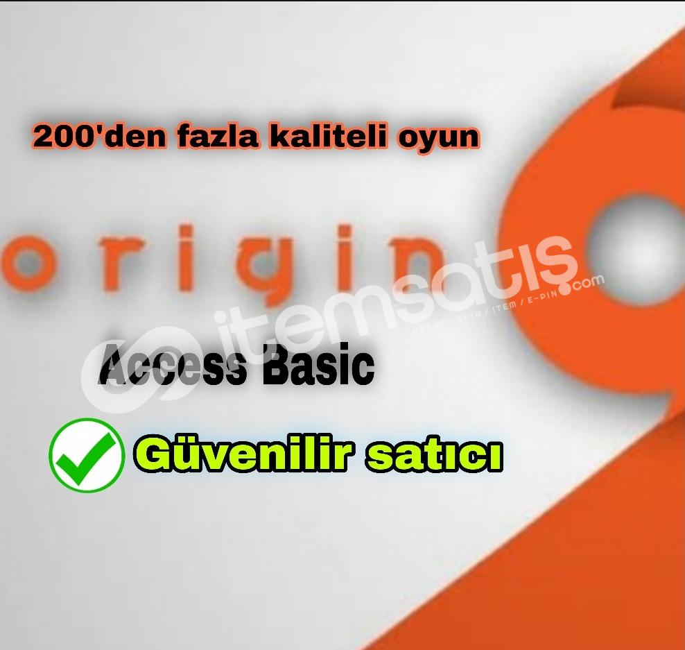 Origin Access Basic (200 den fazla oyun)