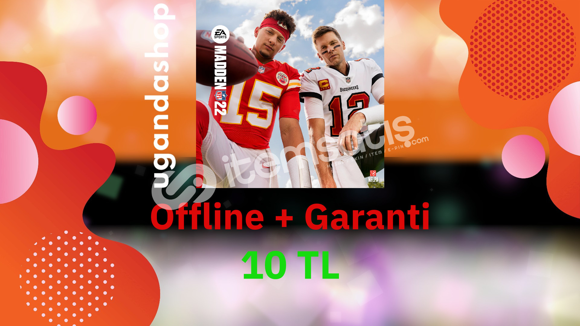 NFL 22 Offline Origin Hesap + Garanti