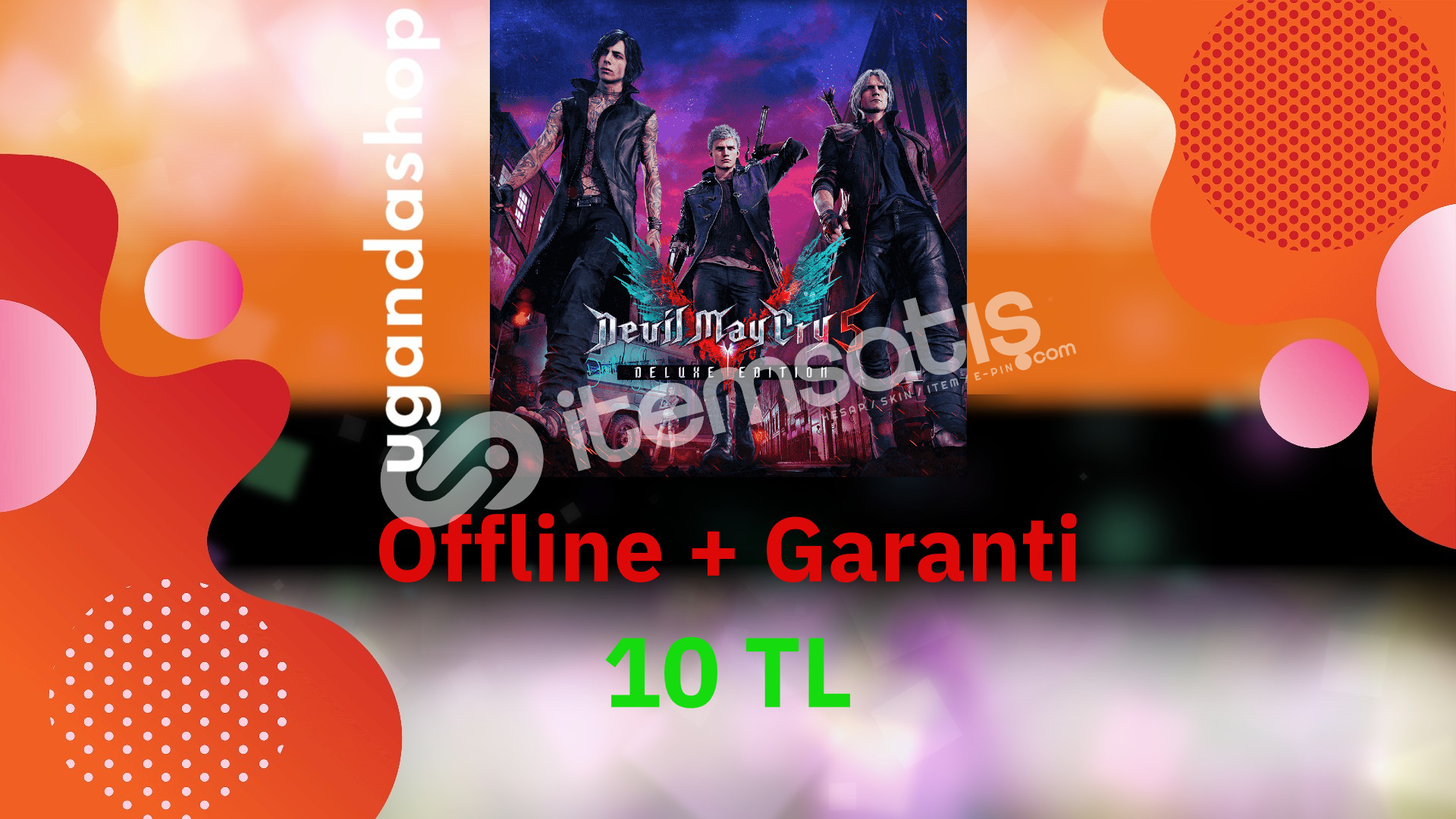 Devil May Cry 5 Deluxe Edition Offline Steam