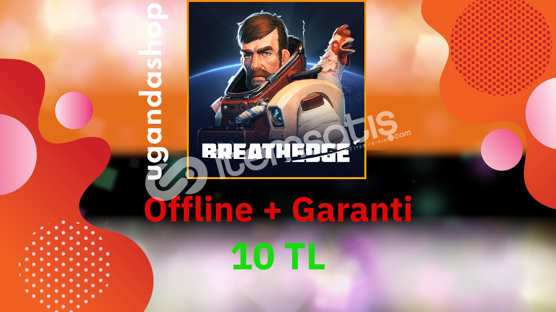 Breathedge Offline Origin Hesap + Garanti