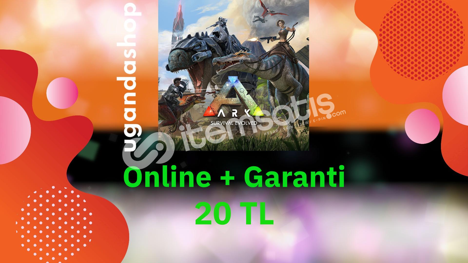 Ark Survival Evolved Online Epic Games Hesap