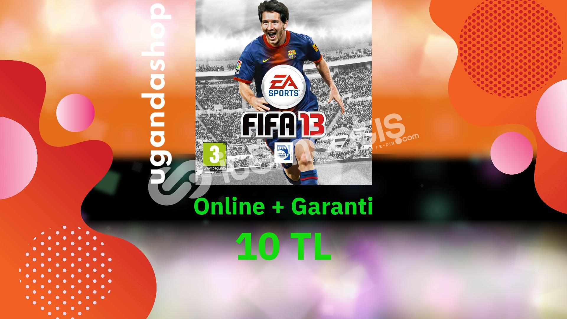 FIFA 13 Online Origin Hesap + Garanti