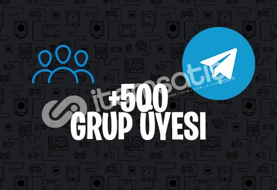500 KARIŞIK TELEGRAM ÜYE | İNDİRİM