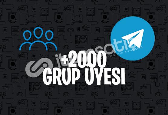 2000 KARIŞIK TELEGRAM ÜYE | İNDİRİM