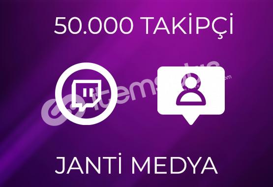50.000 TWİTCH TAKİPÇİSİ - GARANTİLİ