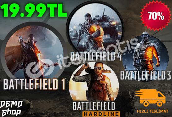 Battlefield 1,3,4,Hardline + BONUS