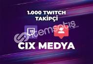 1000 Twitch Takipçi- DÜŞÜŞ YOK - Anında Teslimat