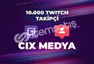 10.000 Twitch Takipçi - Anında Teslimat