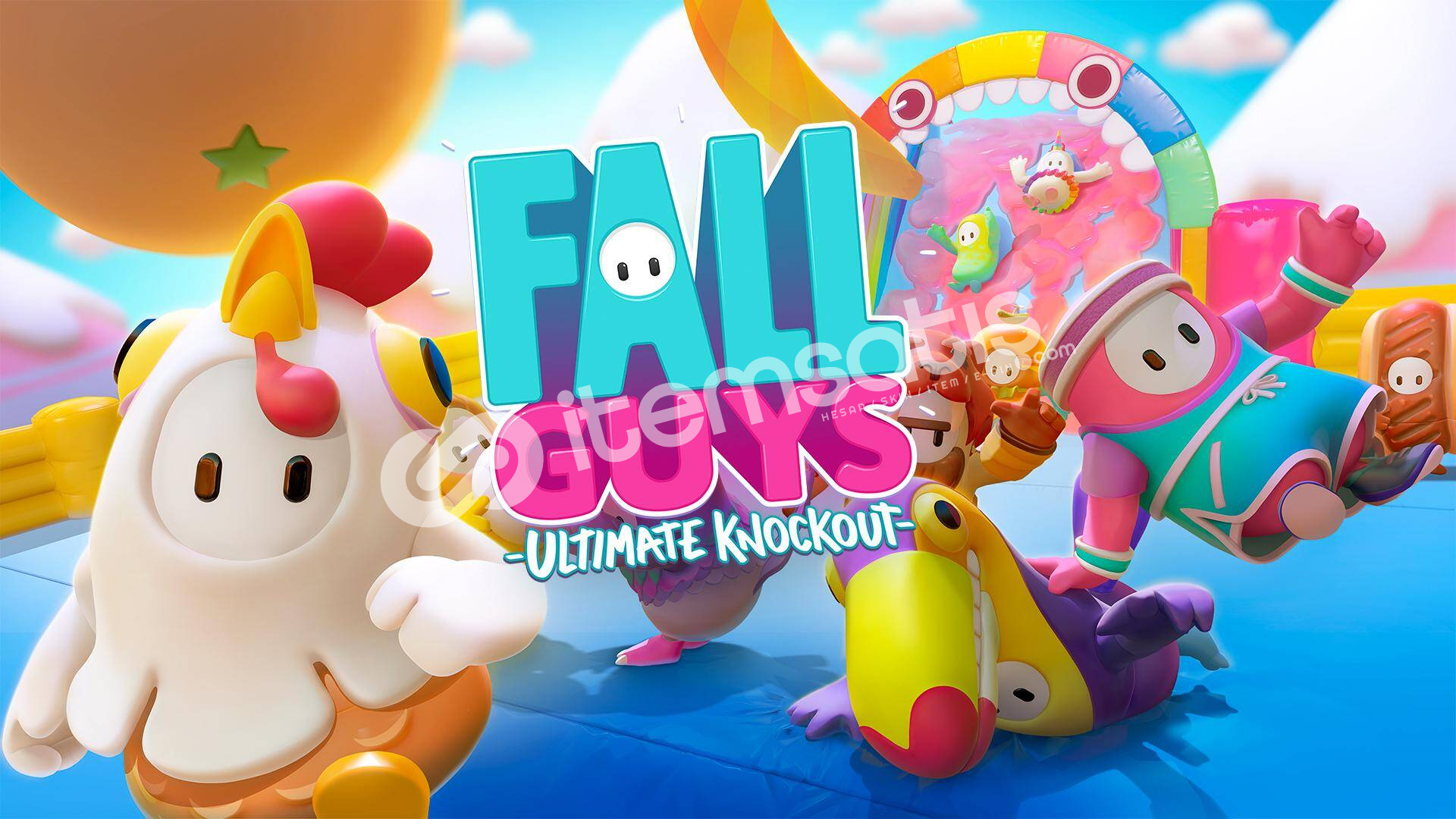Fall Guys Ultimate Knockout ONLİNE + Garanti!