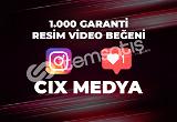 1000 BEĞENİ - ANINDA TESLİMAT