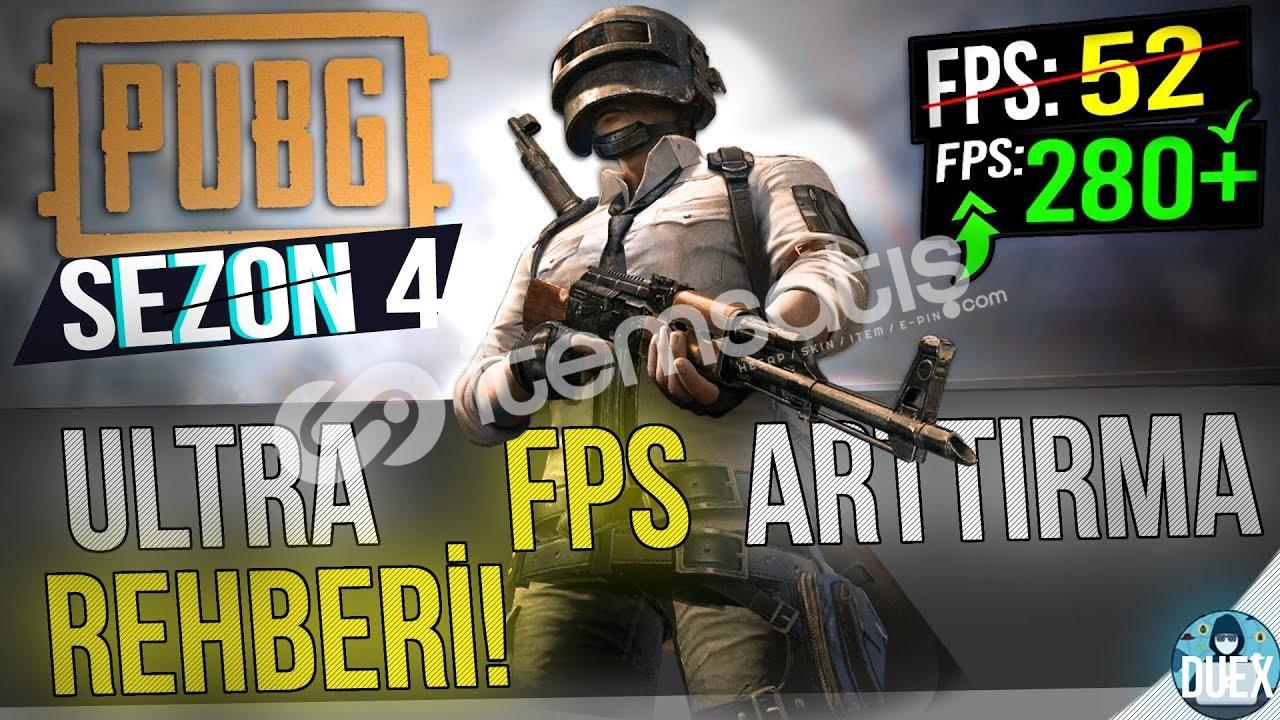 Pubg Fps Arttıran Paket (+30 & +300 FPS)