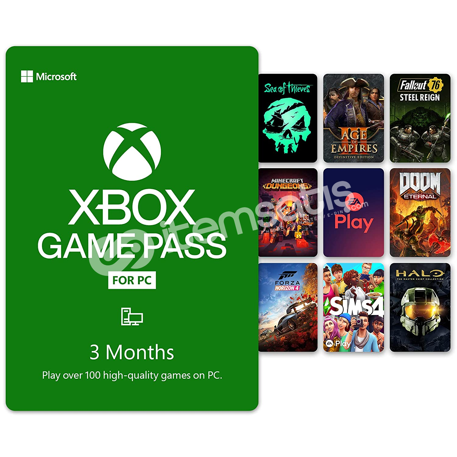 3 Aylık Xbox Game Pass for PC + EA Play