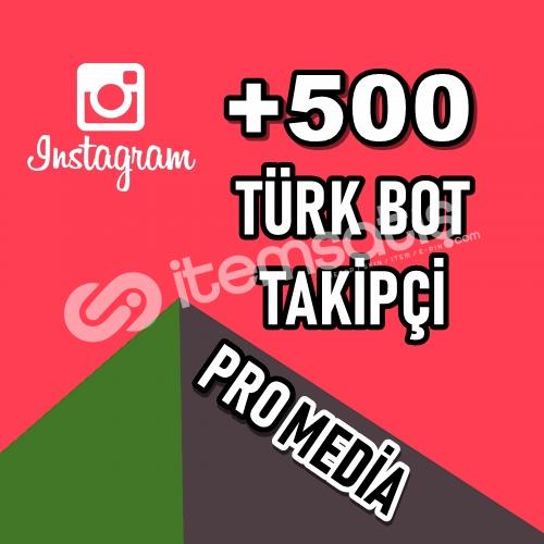 500 TÜRK BOT TAKİPÇİ ★ KALİTELİ HİZMET ★