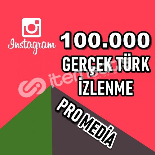 100.000 (100K) %100 TÜRK İZLENME ★ HIZLI ★