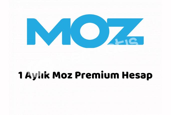 1 Aylık Moz Pro Premium Hesap - Kişiye Özel