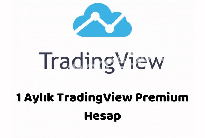 1 Aylık TradingView Premium Hesap - Kişiye Özel
