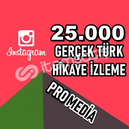 TÜM HİKAYELER İÇİN 25.000 İZLENME ★ HIZLI ★