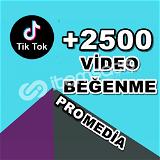 2500 TİKTOK BEĞENİ ★ HIZLI ★