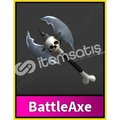 Mm2 BattleAxe (DEV İNDİRİM)