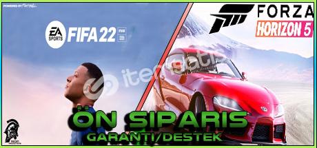 Forza Horizon 5 VE Fifa 22 ÖN SİPARİŞ!