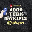 +4000 Türk Takipçi | ANLIK gönderim