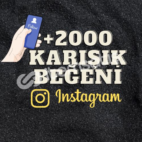 | 2000 KARIŞIK BEĞENİ | ANINDA GÖNDERİM