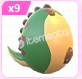 Adopt Me Fossil Egg