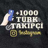 1000 TÜRK TAKİPÇİ /İNDİRİM