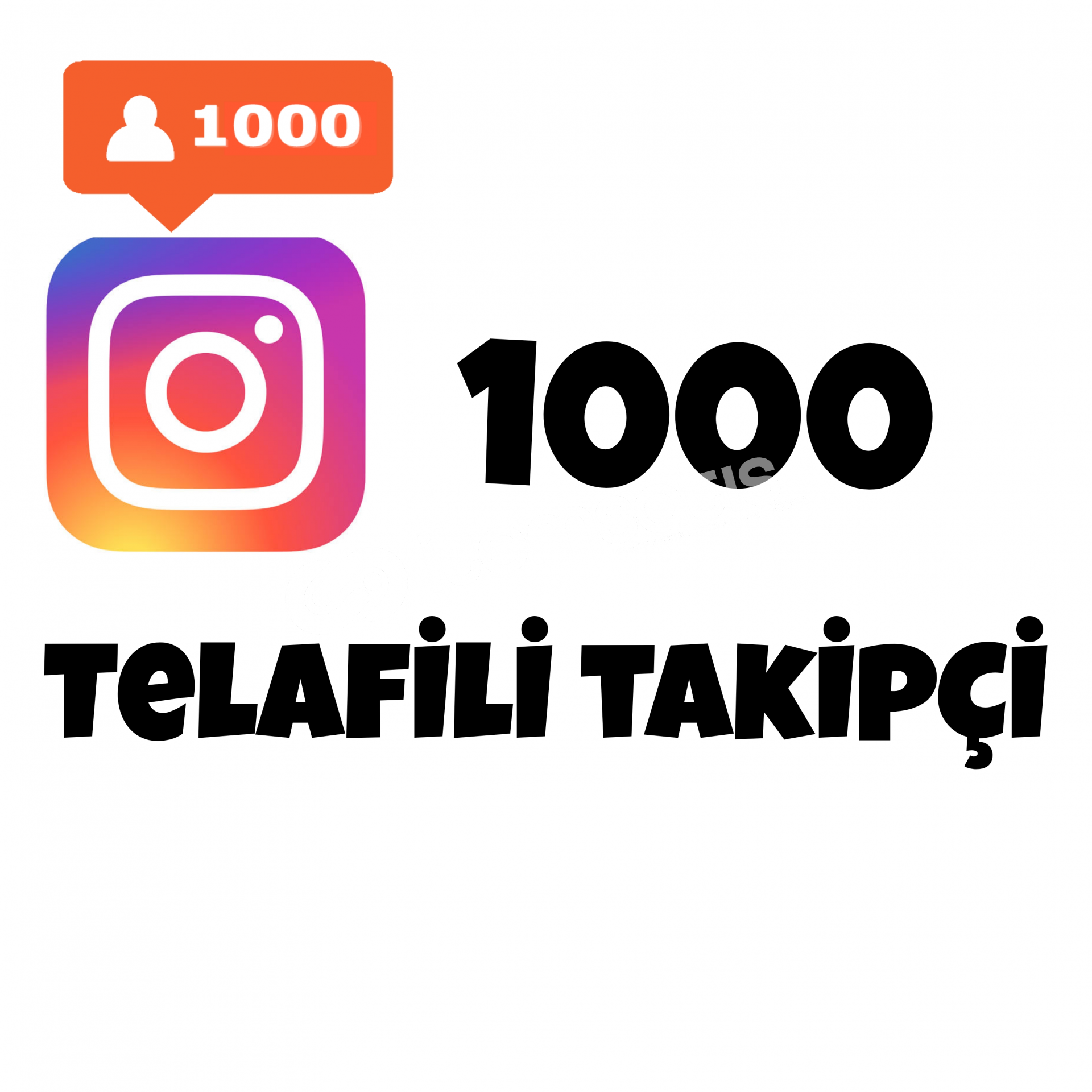 1000 TAKİPÇİ   TELAFİLİ TAKİPÇİ