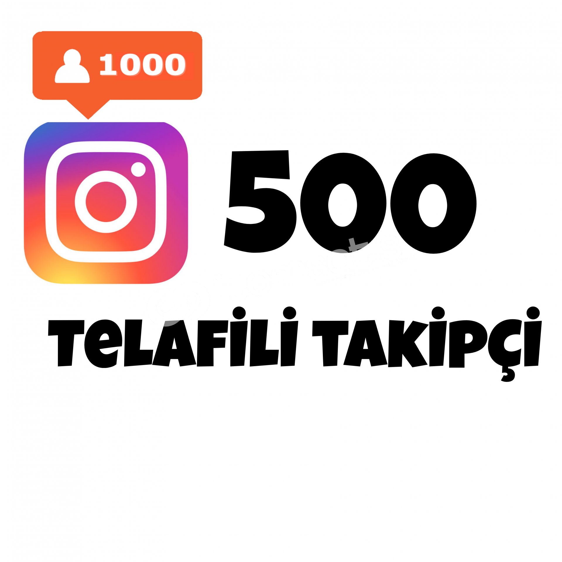 500 TAKİPÇİ   TELAFİLİ TAKİPÇİ
