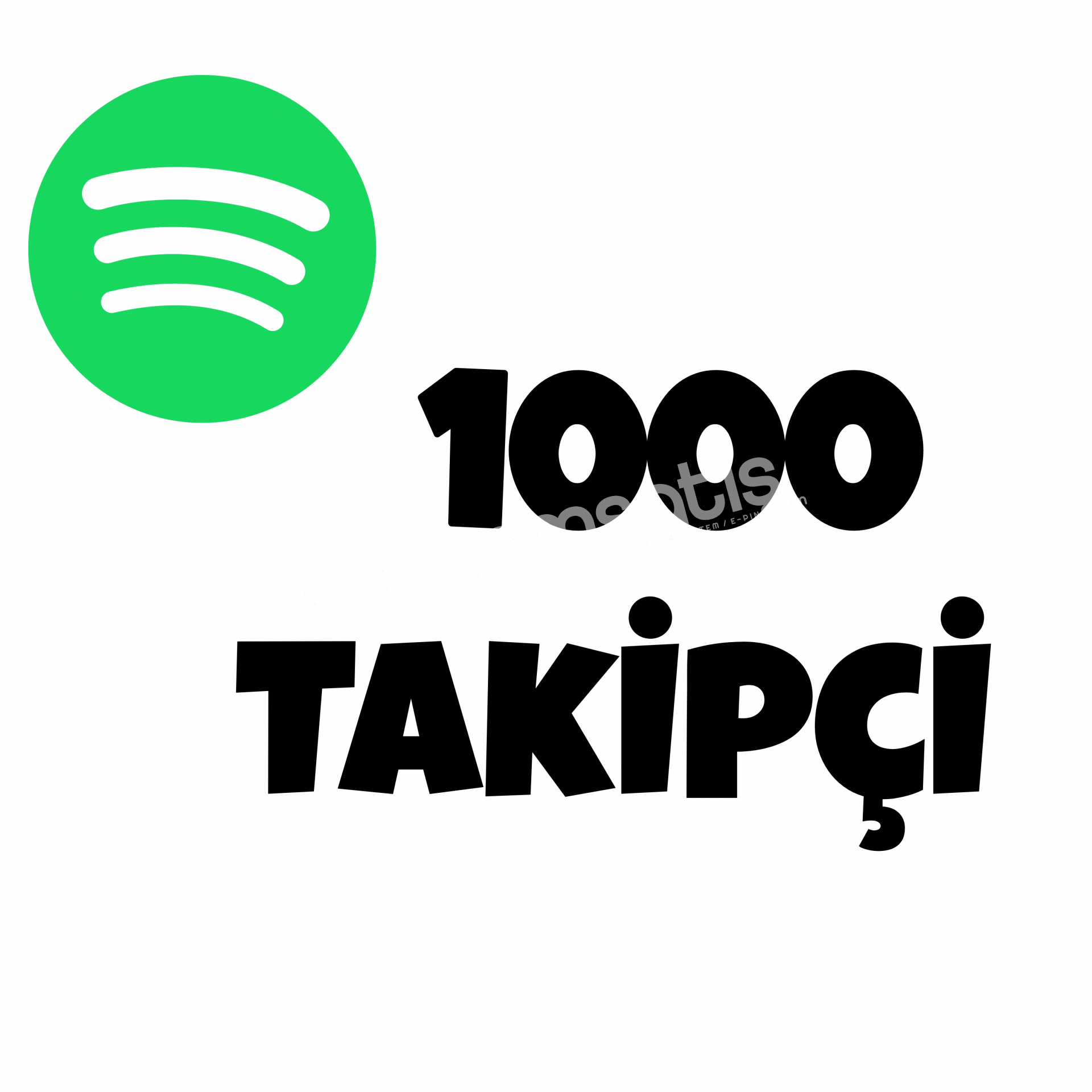 1000 TAKİPÇİ SPOTİFY | HIZLI GÖNDERİM
