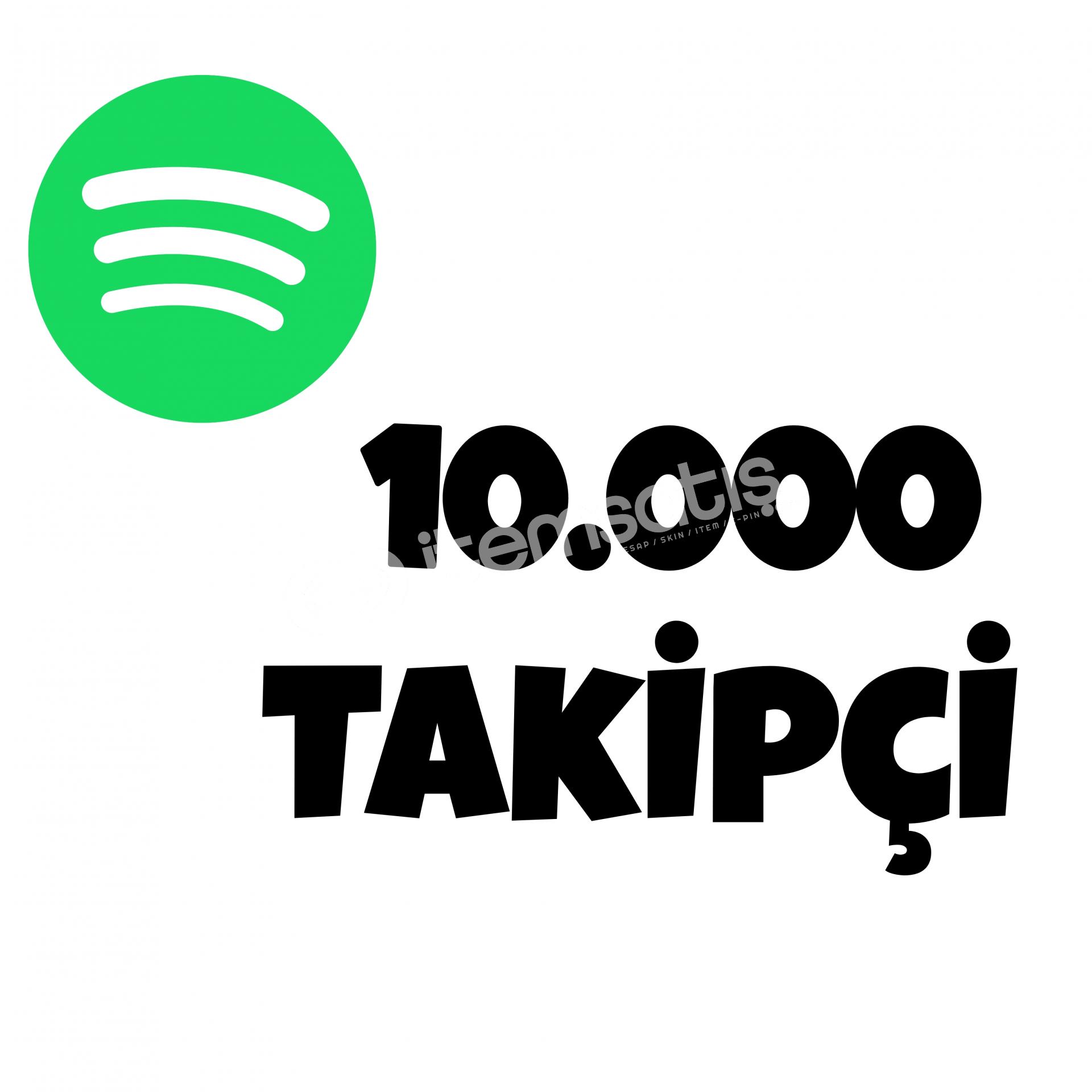 10000 TAKİPÇİ SPOTİFY | HIZLI GÖNDERİM
