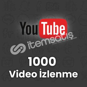 Youtube 1.000 İzlenme Garantili