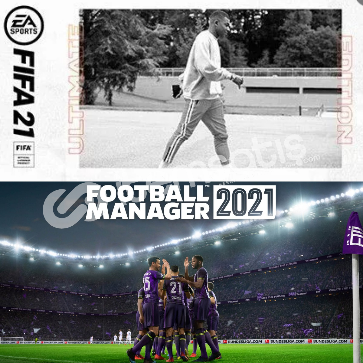 Fifa 21 Ultimate + Football Manager 2021