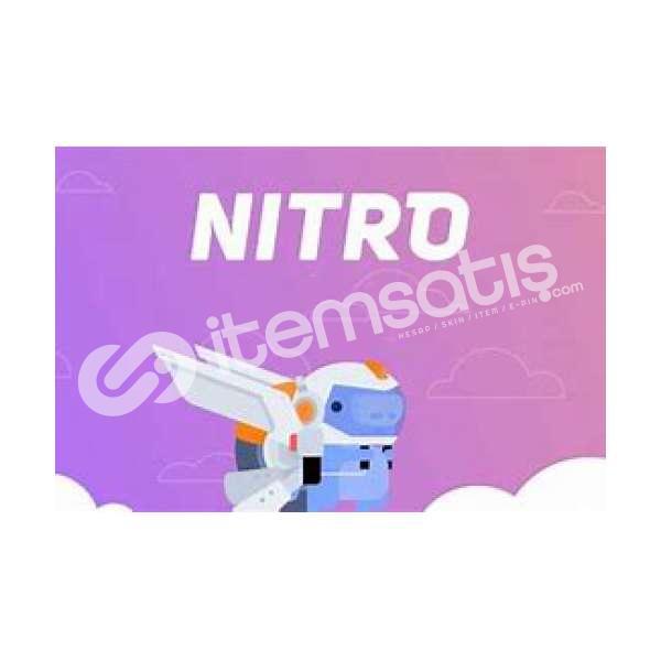 Discord Boostlu Nitrolu Hesap