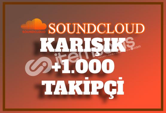 1.000 SoundCloud Takipçi | Hemen Teslim