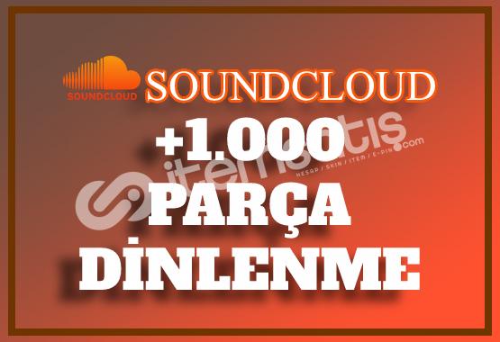 1.000 SoundCloud Dinlenme | Hemen Teslim